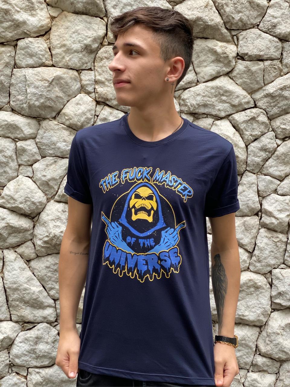 Camiseta Esqueleto: Master of Universe