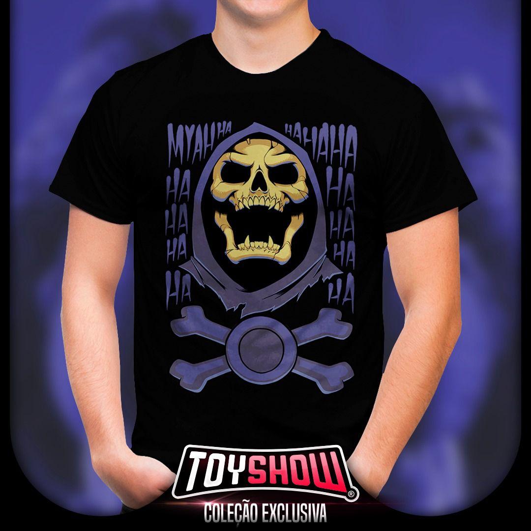 Camiseta Esqueleto (Skeletor): He-Man e Os Mestres Do Universo - Toy Show