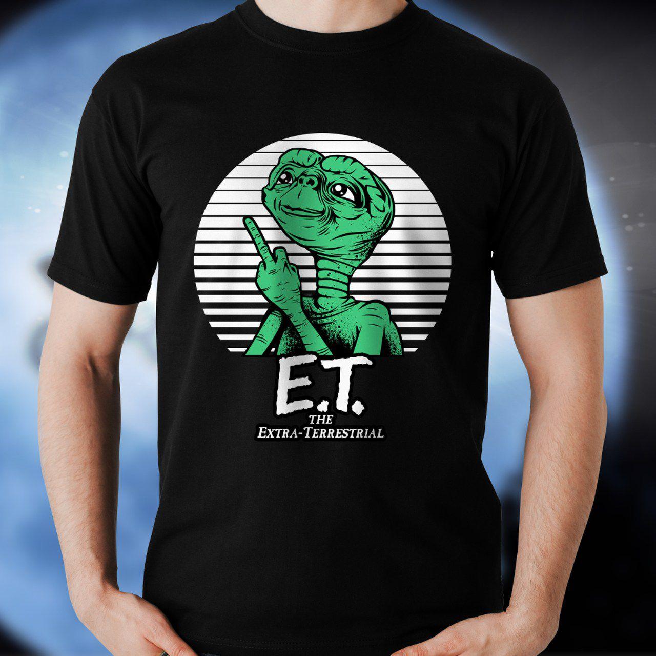 Camiseta E.T.: Vida Louca (Preto)