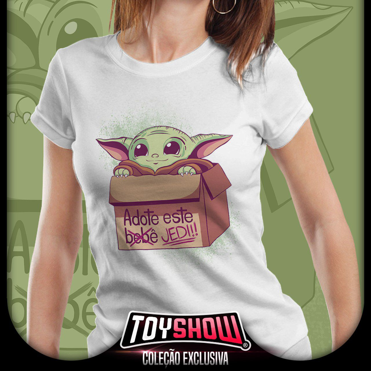 Camiseta Feminina Baby Yoda (The Child)