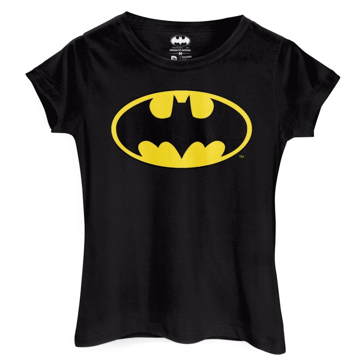 Camiseta Feminina Batman Logo Clássico: DC Comics - BandUp!