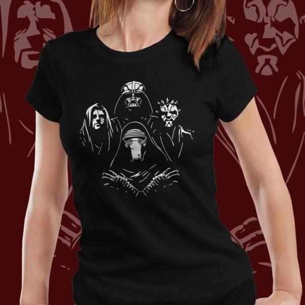 Camiseta Feminina: '' Bohimian Sith Lords