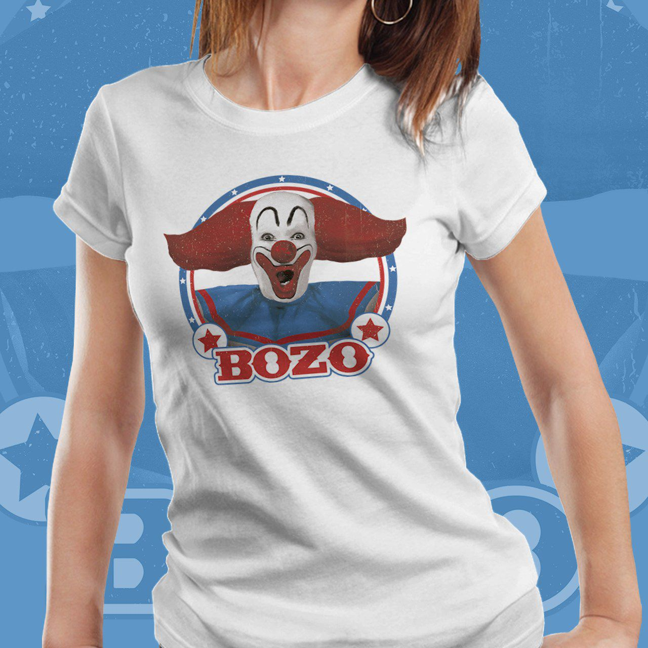 Camiseta Feminina Bozo: Bozo