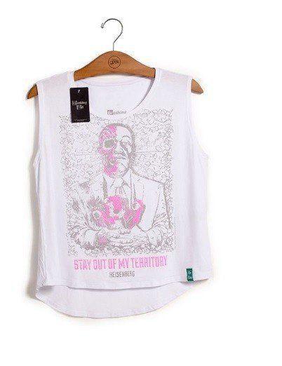 Camiseta Feminina Dead Gus: Breaking Bad - Studio Geek