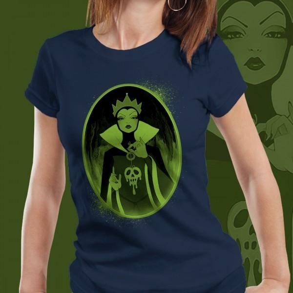 Camiseta Feminina: Evil Queen ( Branca de Neve )