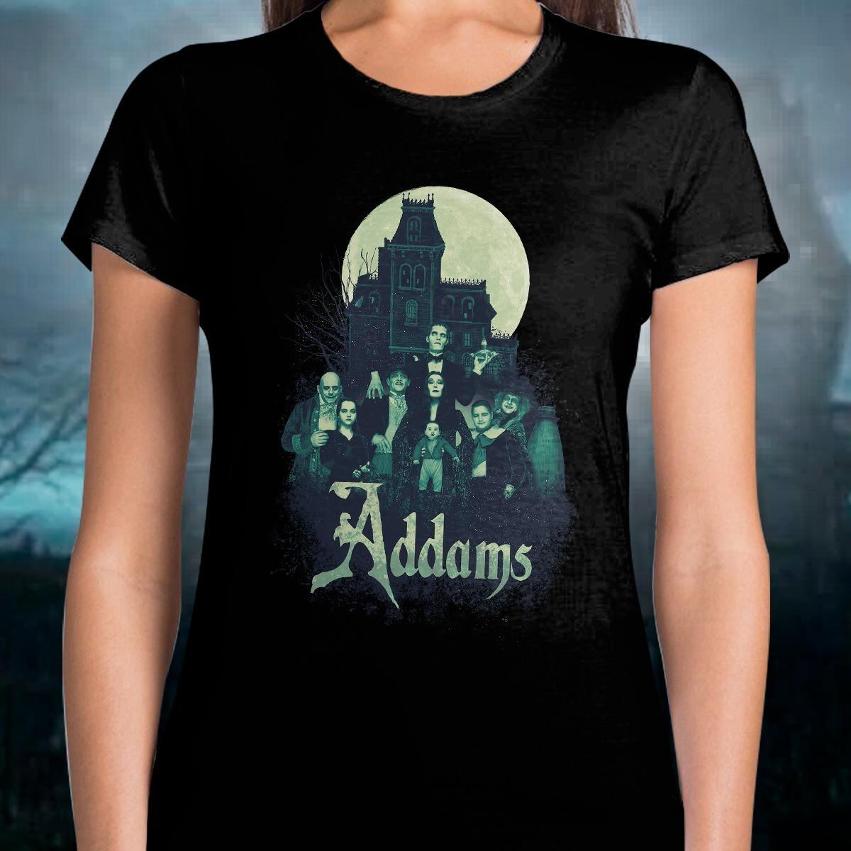 Camiseta Feminina Família Addams