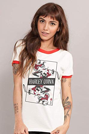 Camiseta Feminina Harley Quinn Danger Card: DC Comics - BandUp!