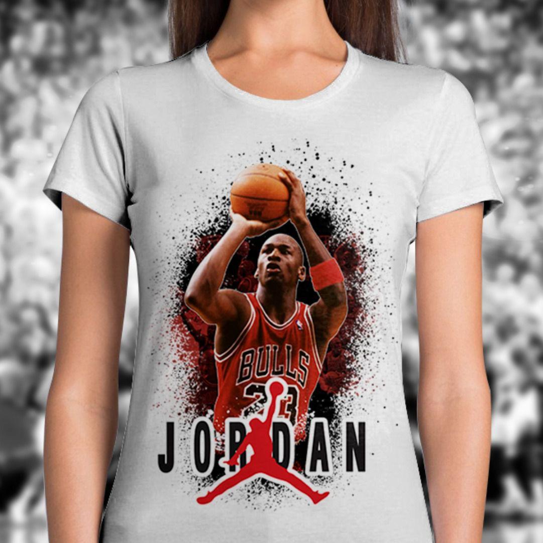 Camiseta Feminina Jordan (Branco)