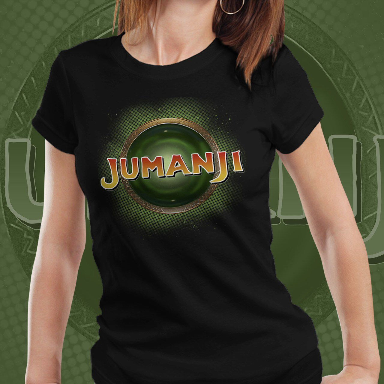 Camiseta Feminina Jumanji