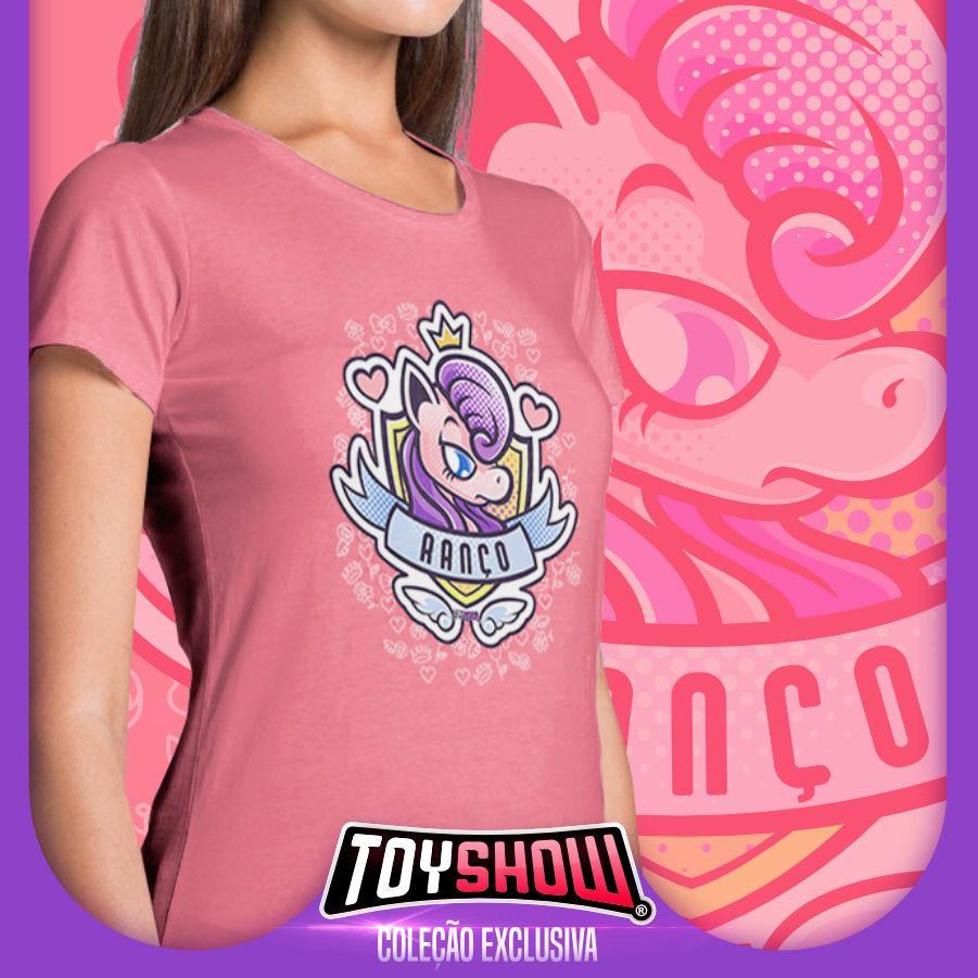 """Camiseta Feminina PowerFun (Unicórnio) """"Ranço"""" - Exclusiva Toyshow"""