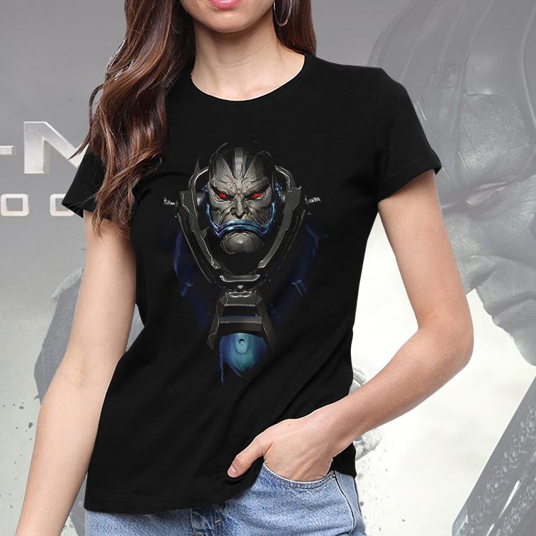 Camiseta Feminina Unissex Apocalypse Mutant: X Men (Preta) - EV