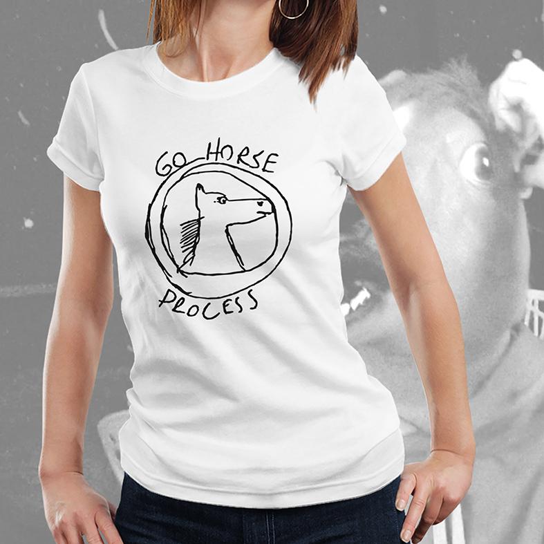Camiseta Feminina Unissex Go Horse Process eXtreme Mandamentos Desenvolvimento Software Códigos Dev (Branca) - EV