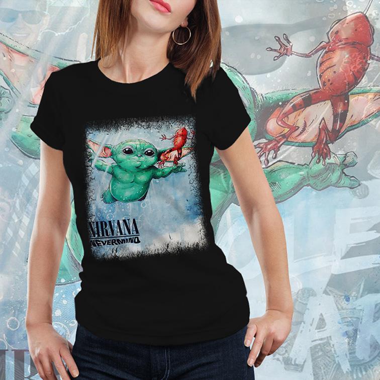 Camiseta Feminina Unissex Nirvana Nevermino (Preta) - EV