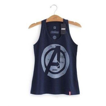 Camiseta Feminina Vingadores Era de Ultron Logo - Studio Geek