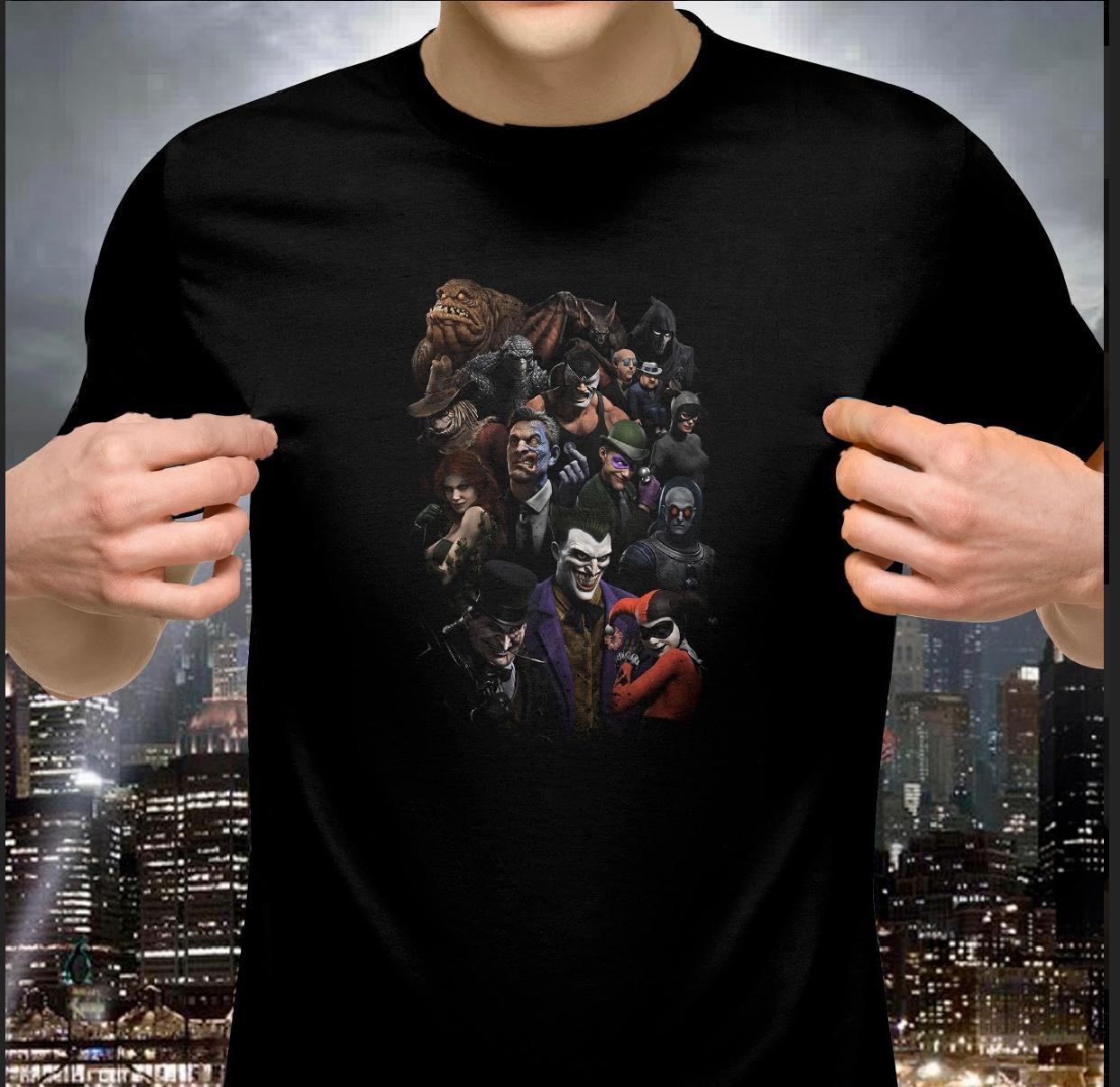 Camiseta: Galeria de Vilões ( Batman) - Dc Comics