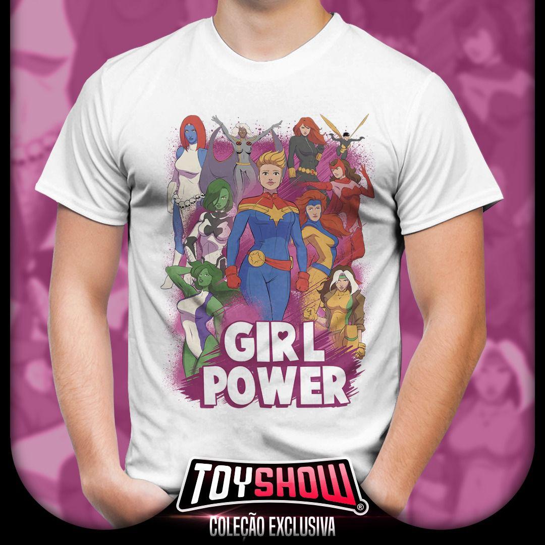 Camiseta Girl Power - Exclusiva Toyshow