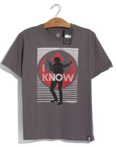 Camiseta Han Solo I Know: Star Wars - Studio Geek