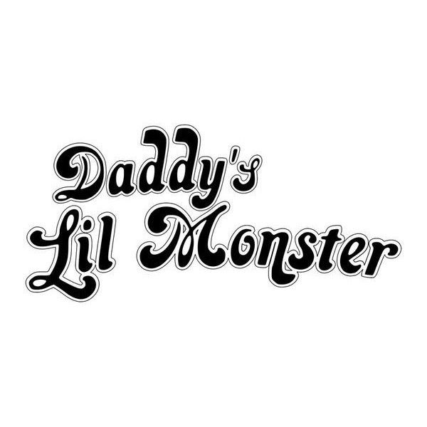 Camiseta Harley Quinn: Daddy's Lil Monster Jersey