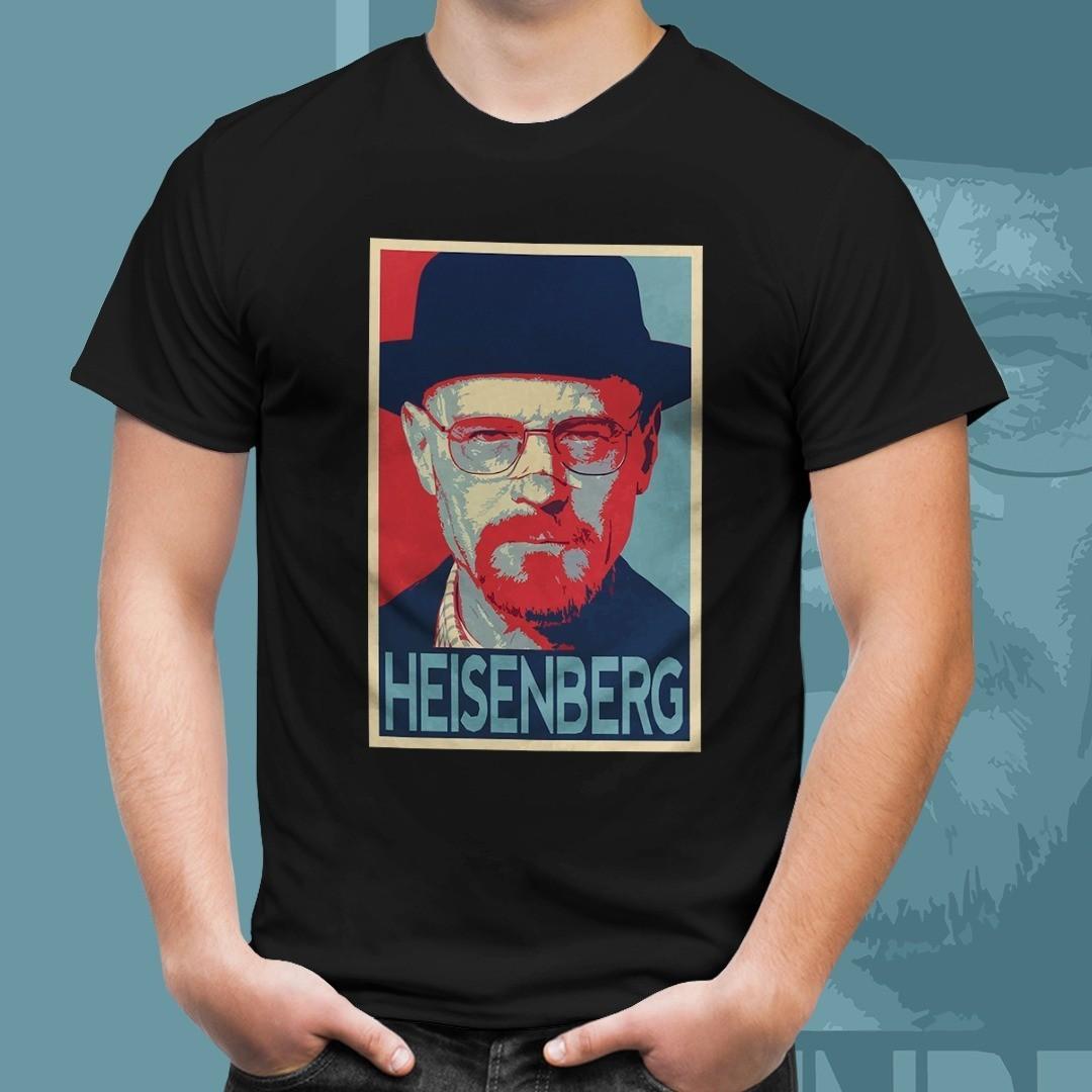 "Camiseta ""Heisenberg"": Breaking Bad (Preto)"