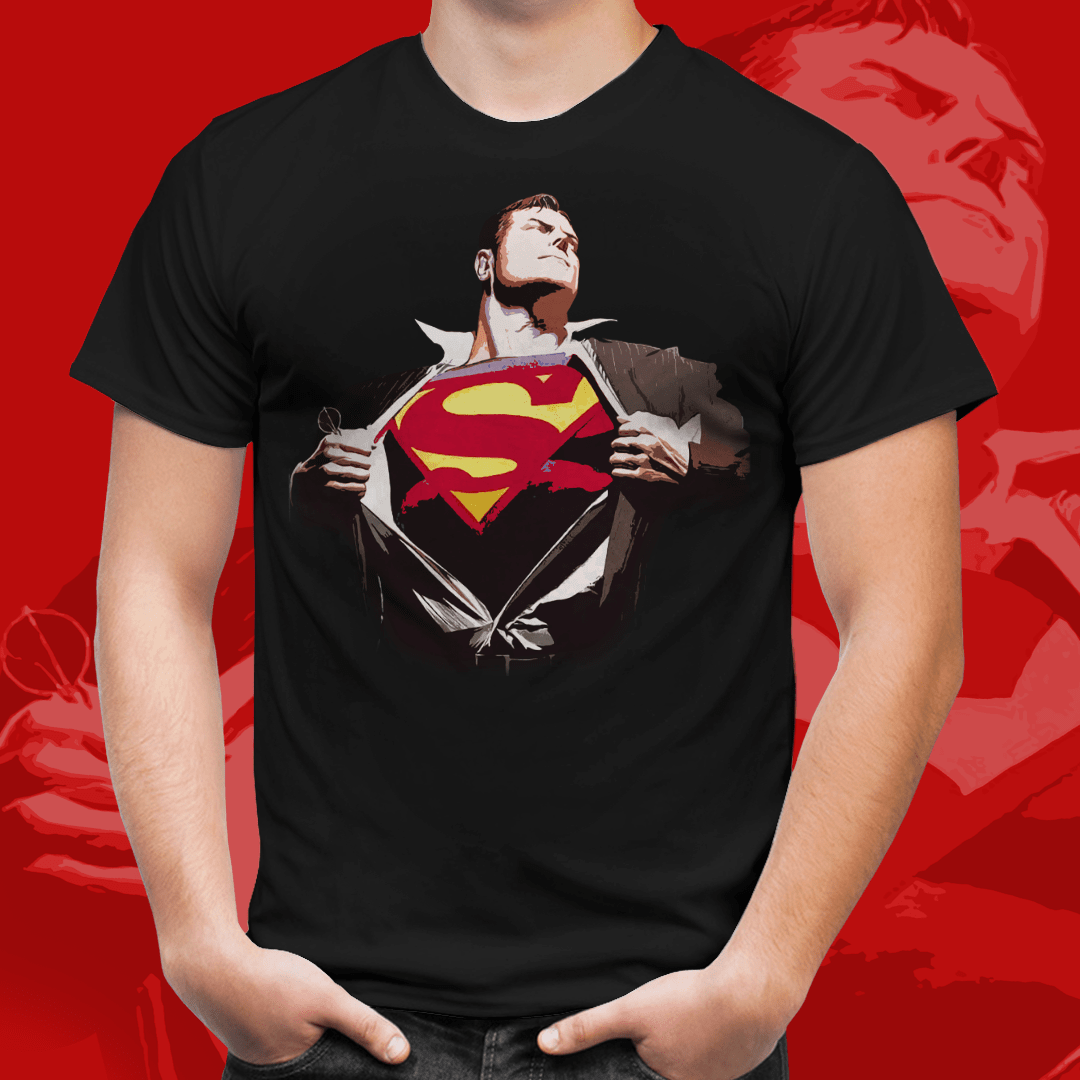 Camiseta Homem de Aço