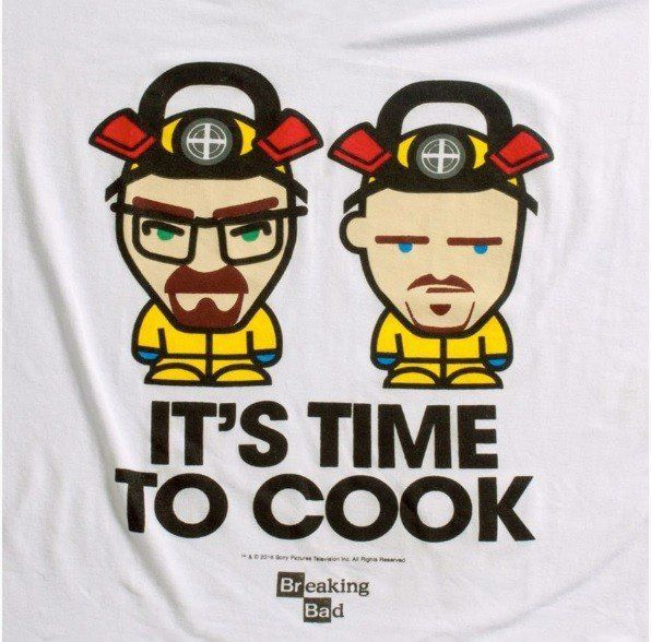 Camiseta It's Time To Cook: Breaking Bad - Studio Geek