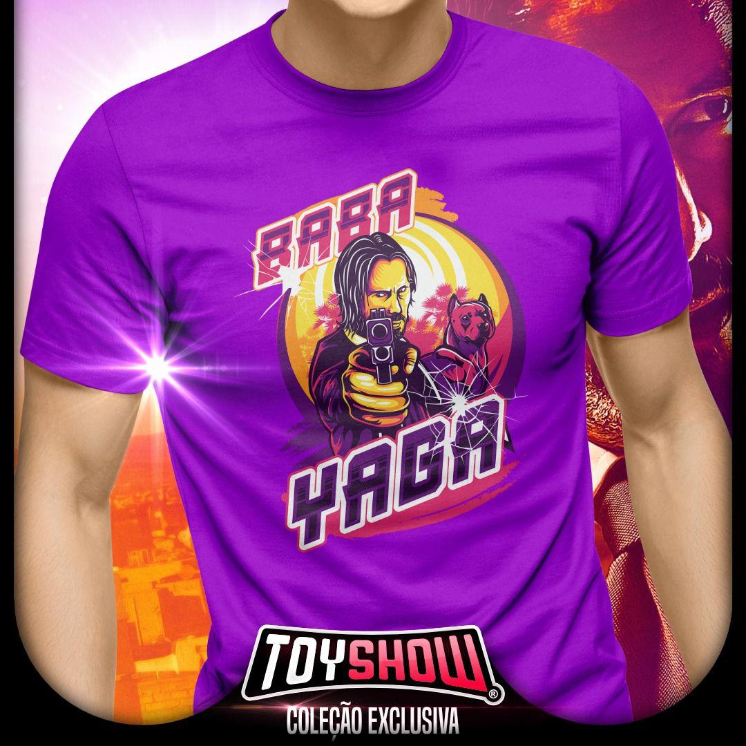 Camiseta John Wick - Roxa - Exclusiva Toyshow