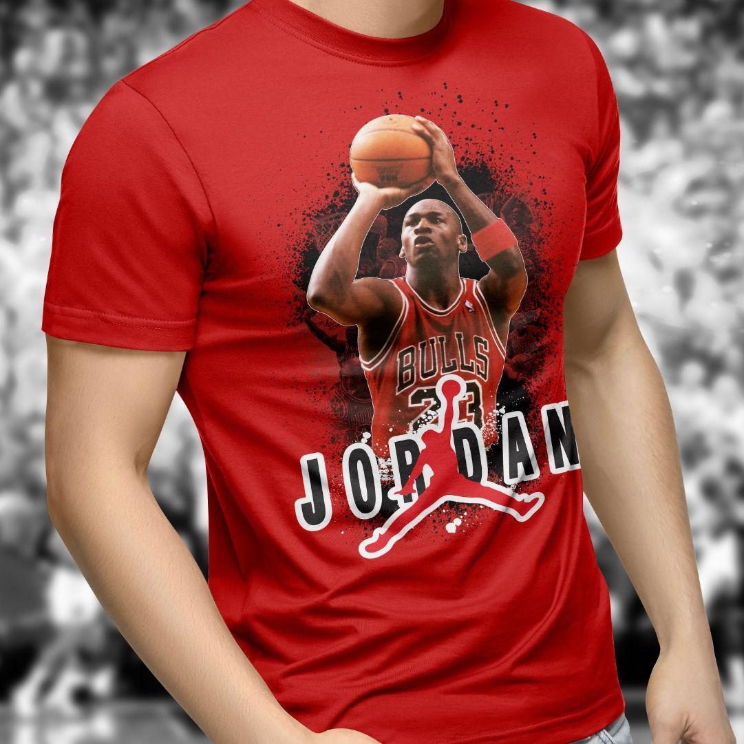 Camiseta Jordan (Vermelho)