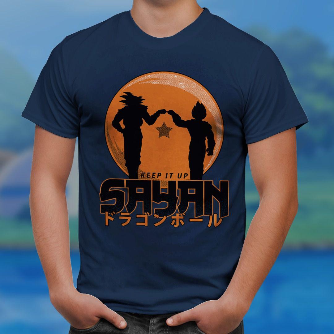Camiseta Keep It Up Sayan: Dragon Ball Z- ToyShow - EV - Anime Mangá