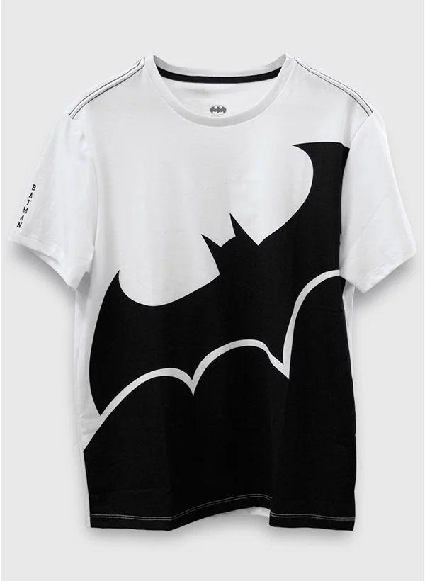 Camiseta Logo Batman Transversal - BandUp!