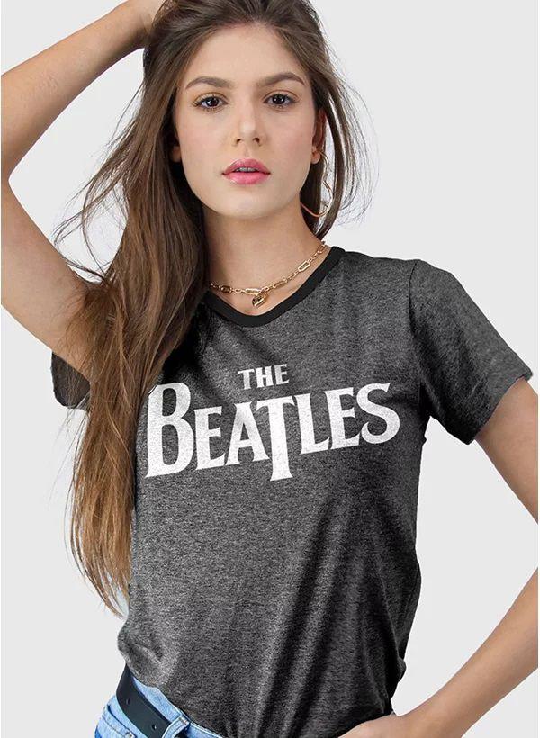 Camiseta Logo Clássico The Beatles - BandUp!
