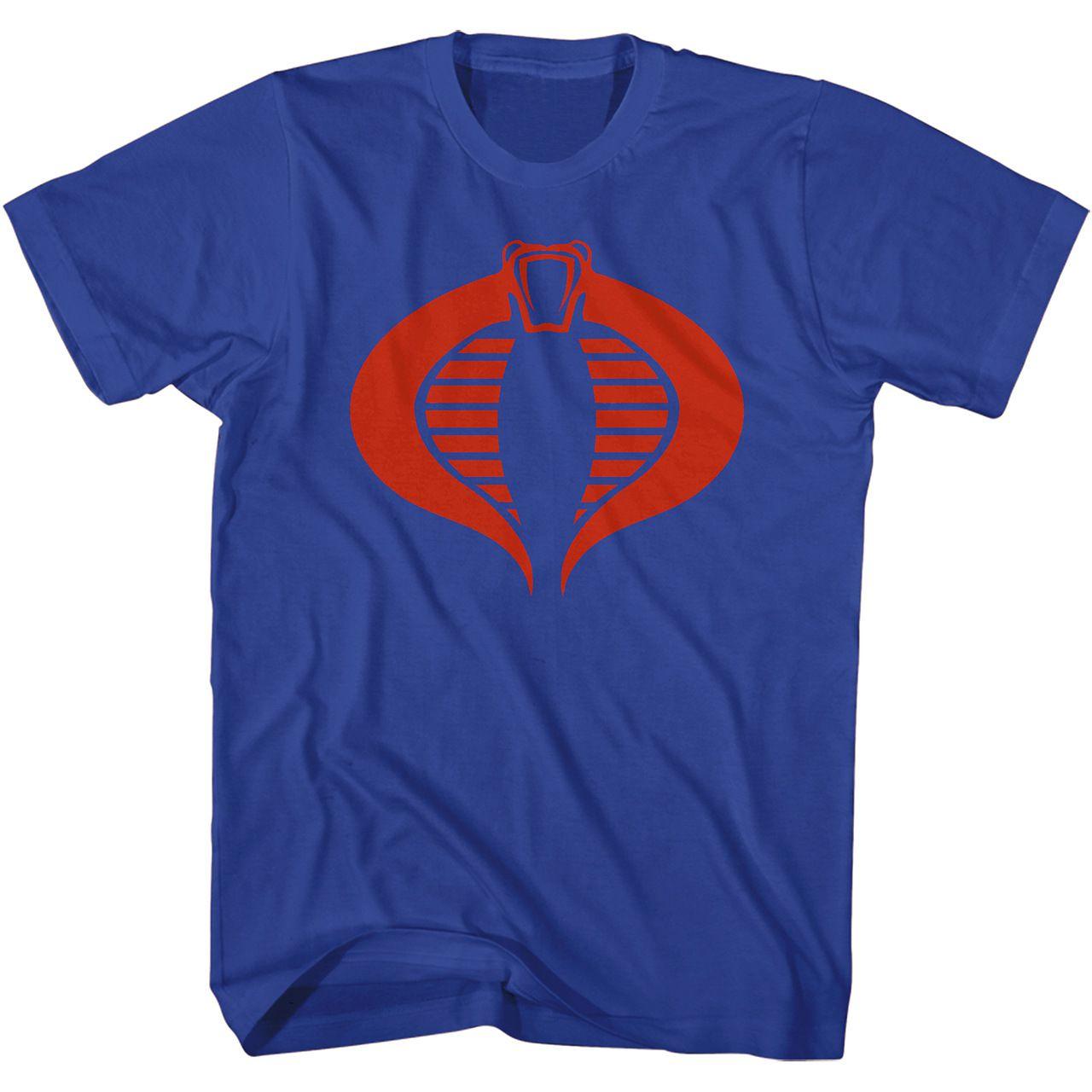 Camiseta Logo Cobra: Comandos Em Ação (G.I.Joe)
