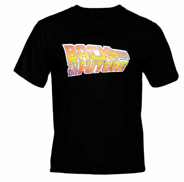 Camiseta Logo De Volta Para o Futuro (Back To The Future)