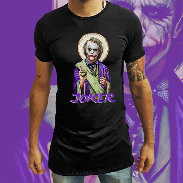 Camiseta Long Line God Joker: Coringa - EV