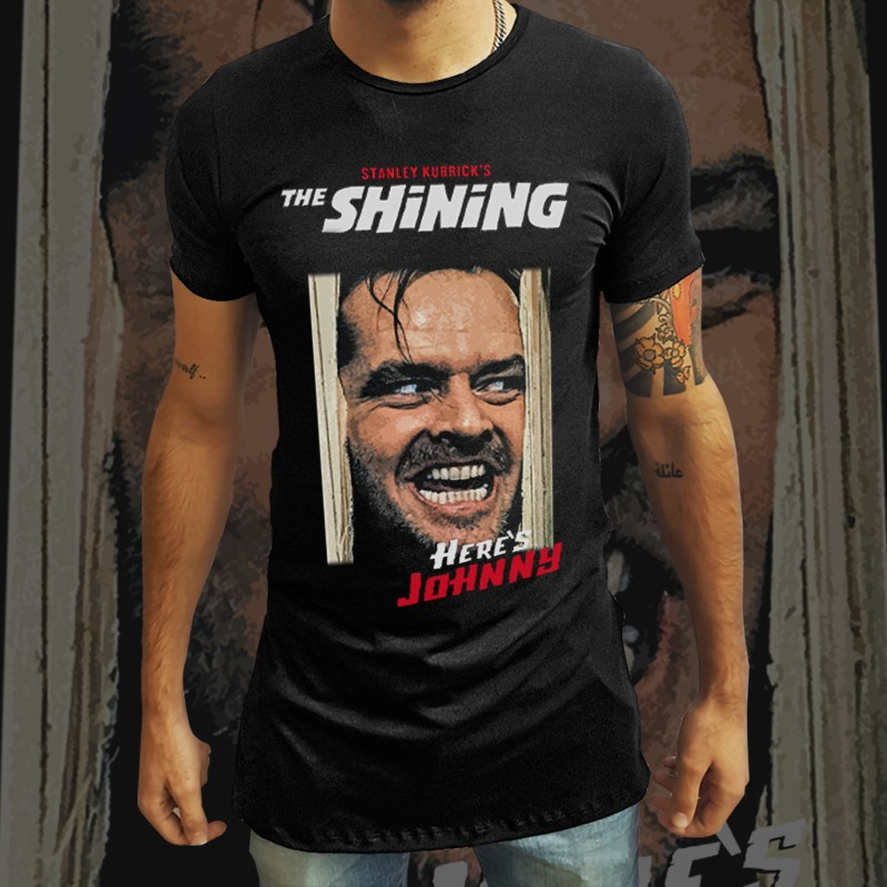Camiseta Long Line Iluminado:
