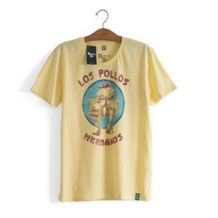 Camiseta Los Pollos Hermanos Amarela - P