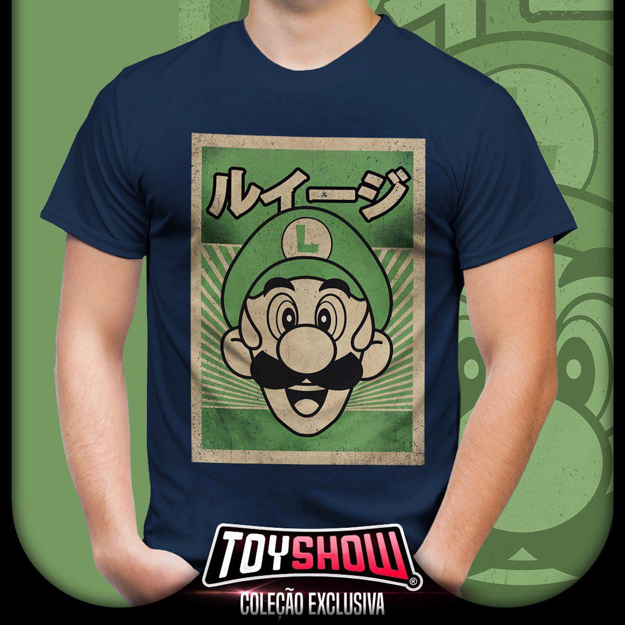 Camiseta Unissex Luigi: Super Mario Bros