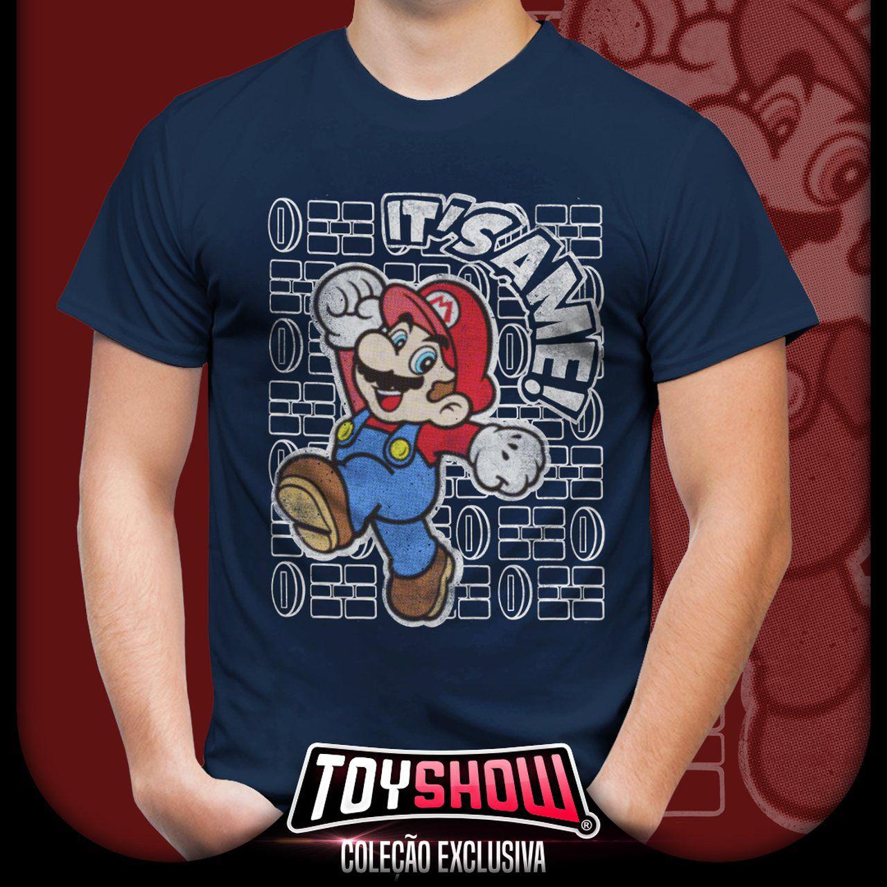 Camiseta Unissex Mario