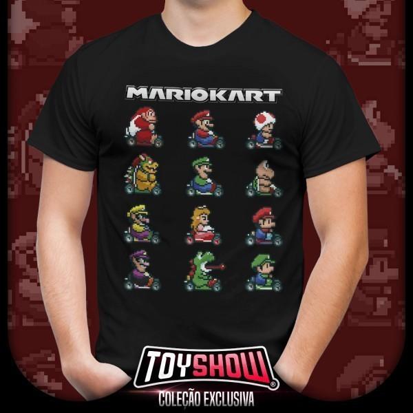 Camiseta: '' Mario Kart '' ( Mario Bros )