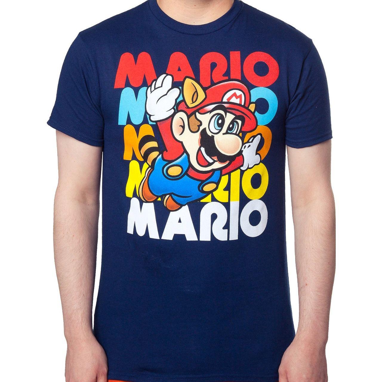 Camiseta Mario: Super Mario Bros 3