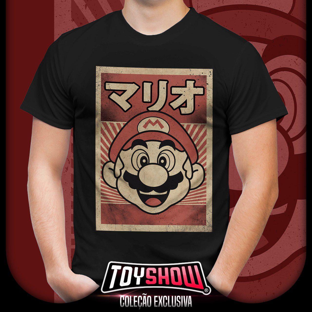 Camiseta Unissex Mario: Super Mario Bros