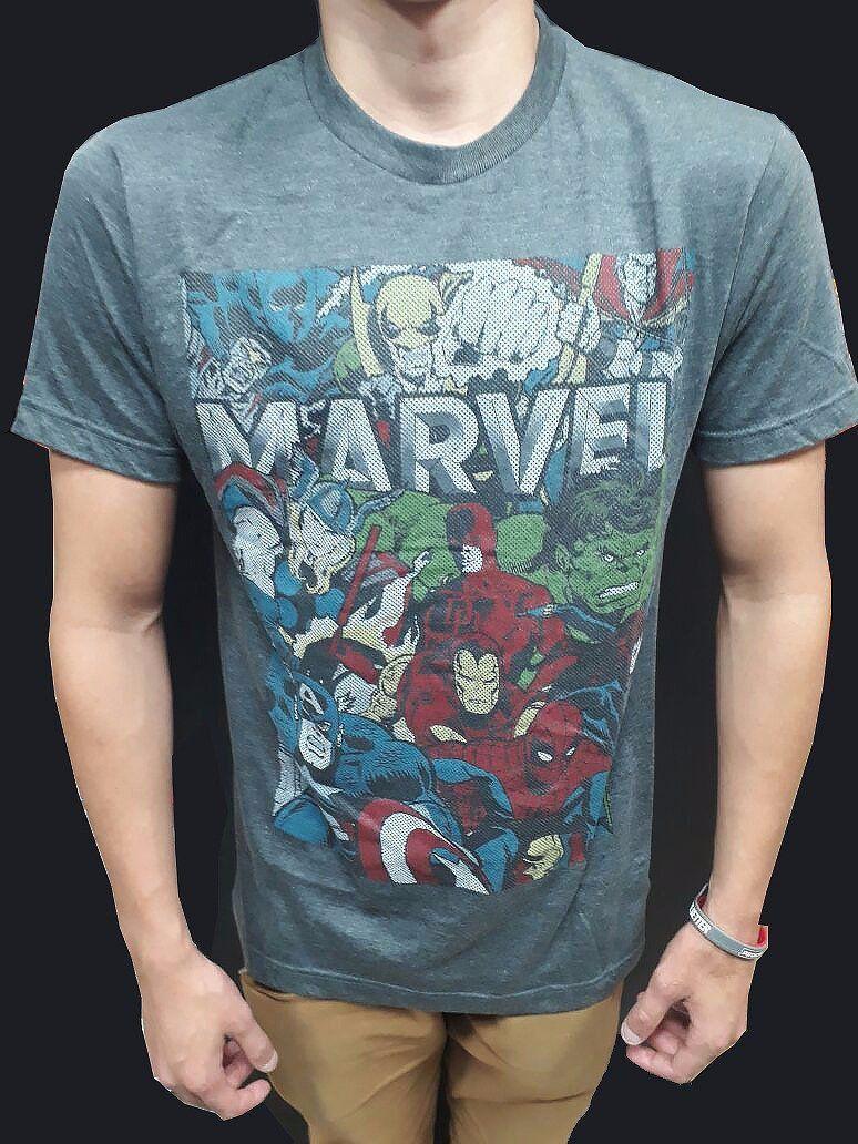 Camiseta Marvel: Heróis