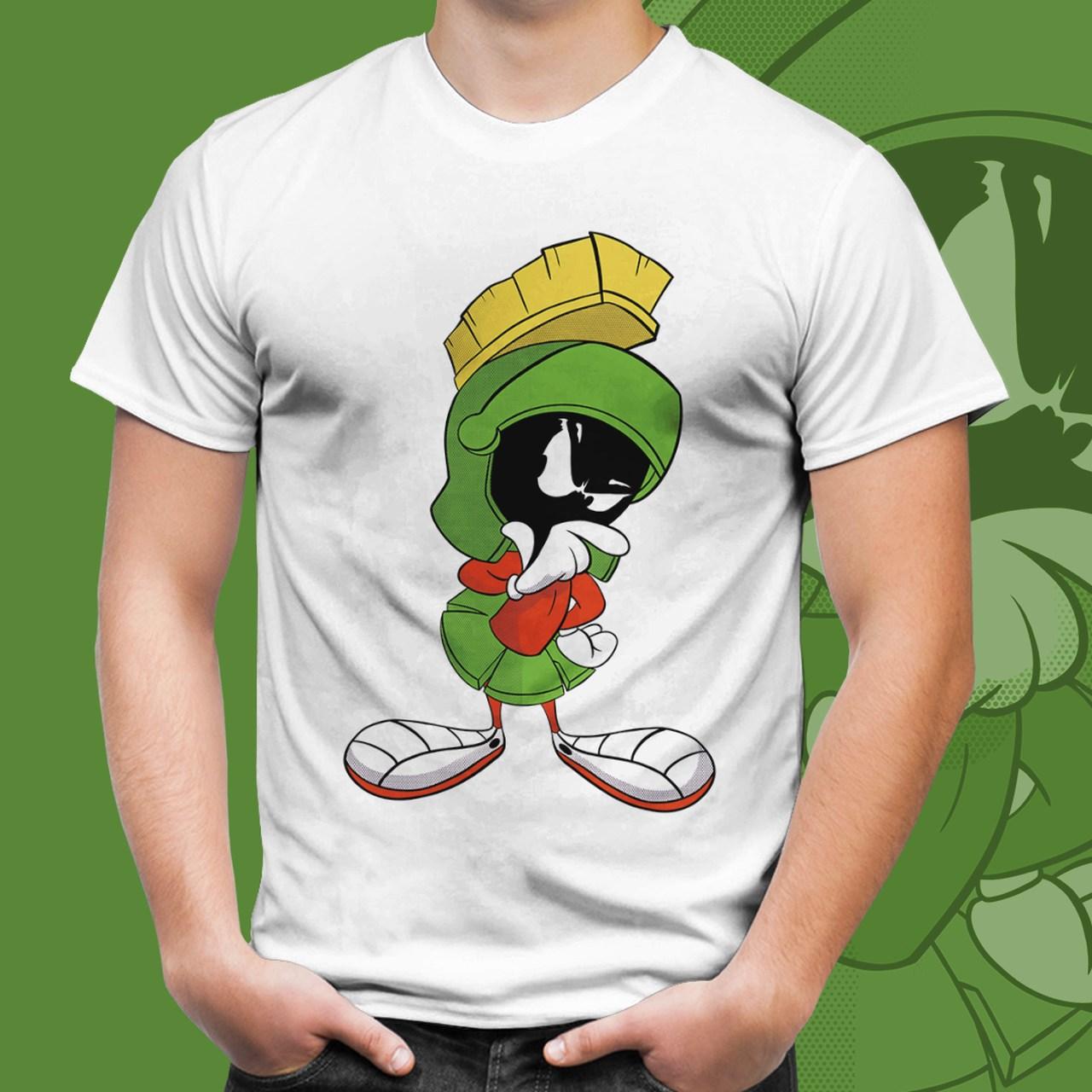 Camiseta Marvin O Marciano (Branco)
