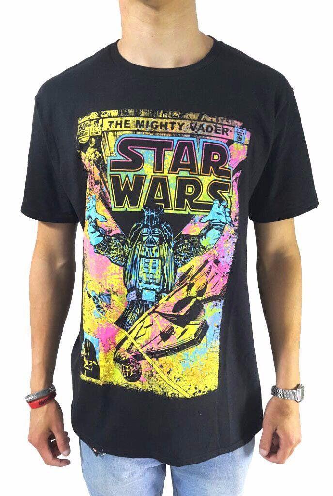 Camiseta Masculina The Mighty Darth Vader: Star Wars Preta