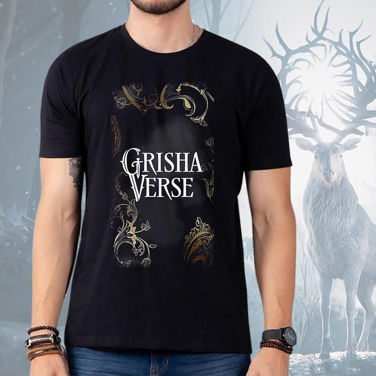 Camiseta Masculina Unissex GrishaVerse (Preta) - EV