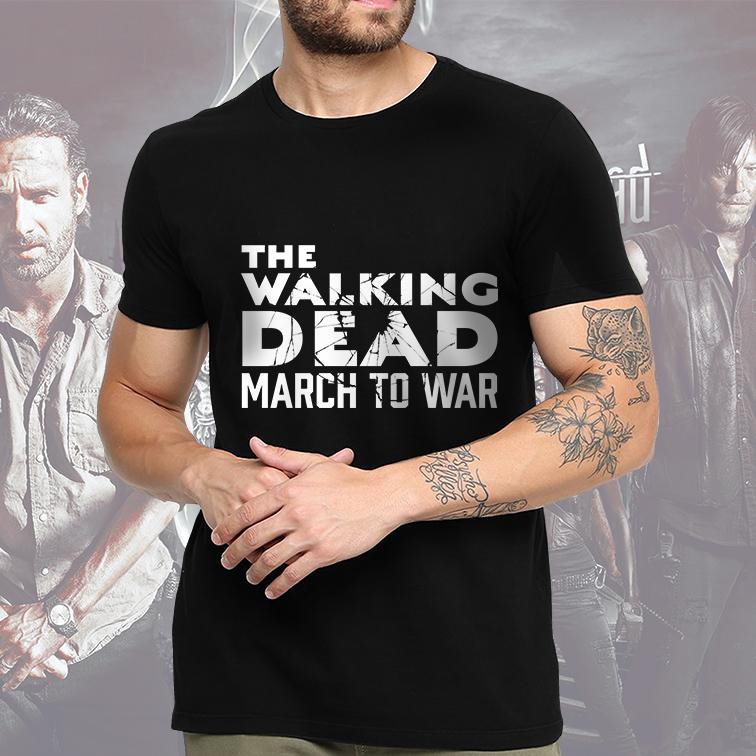 Camiseta Masculina Unissex March To War: The Walking Dead (Preta) - EV
