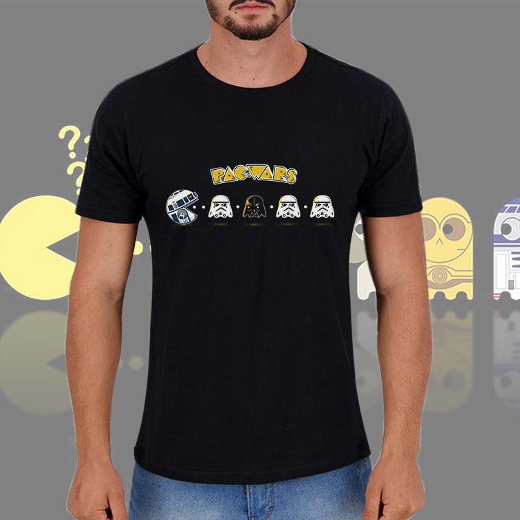 Camiseta Masculina Unissex Pac Wars Comics Pac Man: Star Wars (Preta) - EV