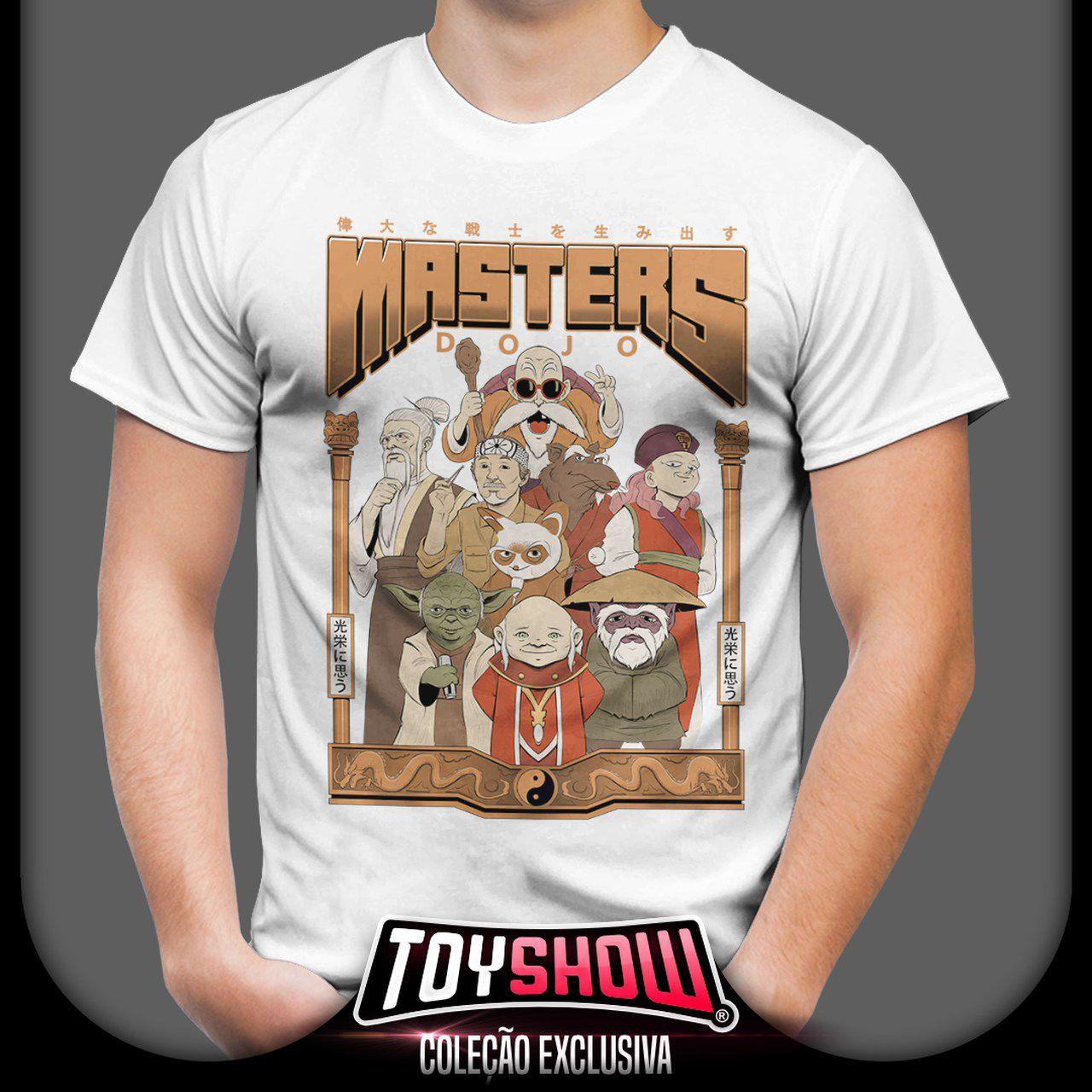 Camiseta Unissex Masters Dojo - Exclusiva Toyshow