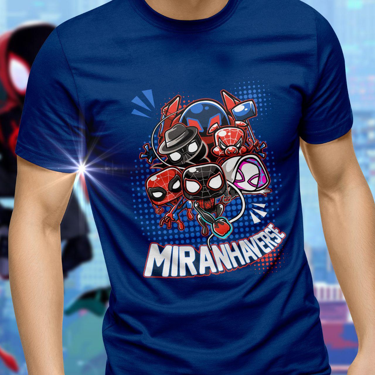 Camiseta Miranhaverse (Personagens): Marvel - Exclusiva Toyshow