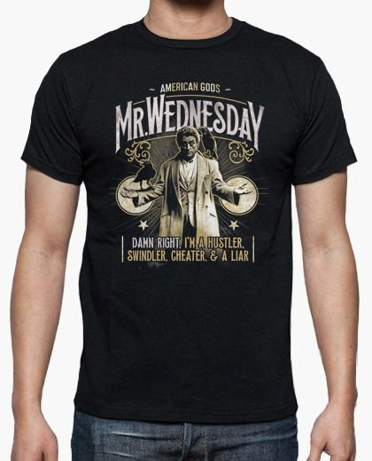 Camiseta Mr. Wednesday: American Gods