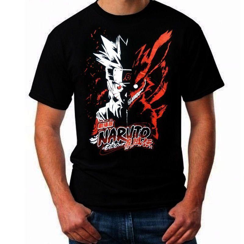 Camiseta Unissex Naruto: Naruto (Preta) - EV -  Anime Mangá